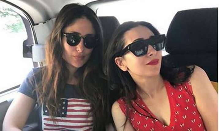 Karisma Kapoor shares picture with sister Kareena Kapoor Khan- India TV