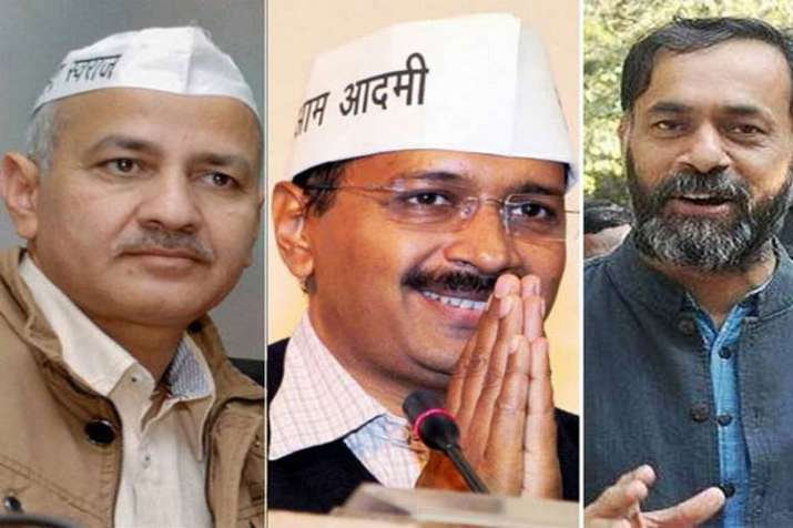 Non bailable warrants against Arvind Kejriwal, Manish Sisodia and Yogendra Yadav- India TV Hindi
