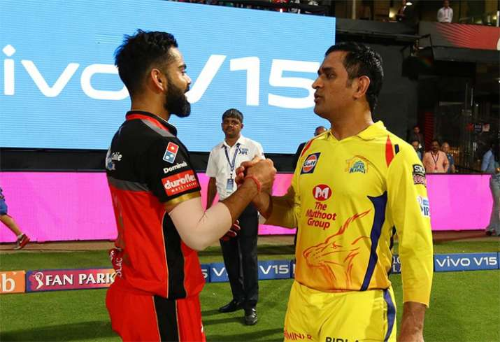 Virat Kohli MS Dhoni IPL 2019 Chennai Super Kings Royal Challengers Bangalore M Chinnaswamy Stadium- India TV Hindi