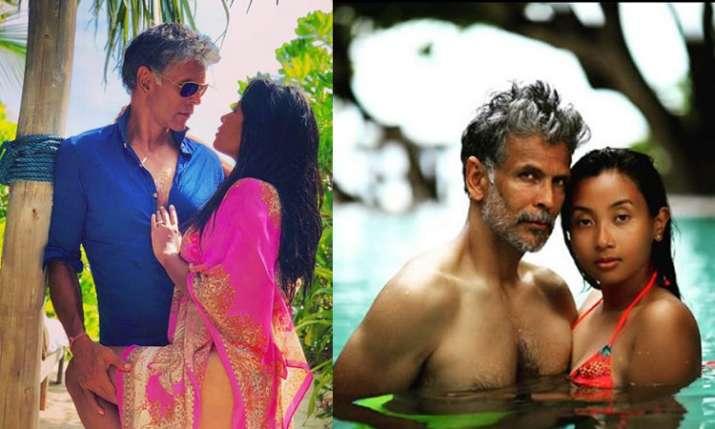 मिलिंद सोमन और...- India TV