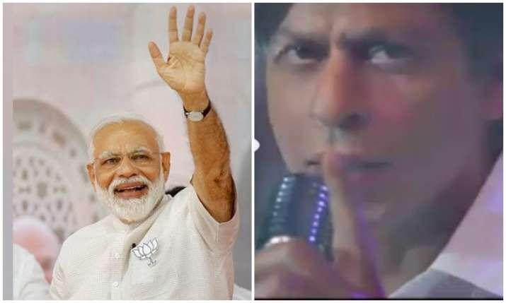 PM Narendra modi and shahrukh khan- India TV Hindi