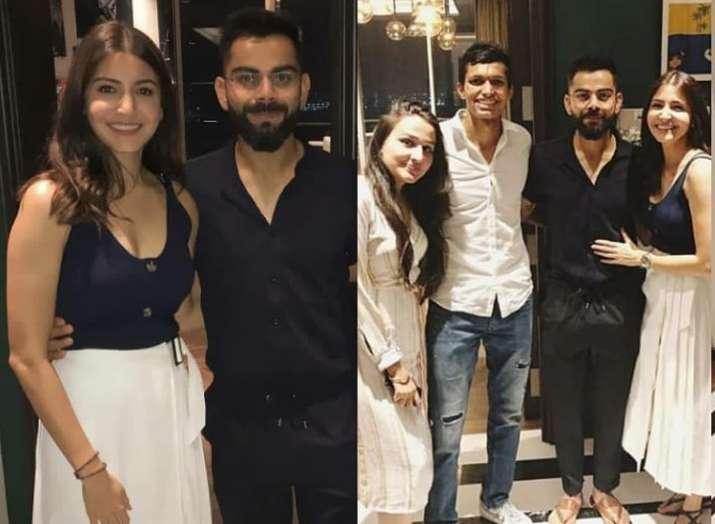 Anushka Sharma and Virat Kohli host dinner for ms...- India TV
