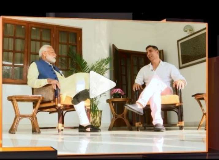 अक्षय कुमार-पीएम...- India TV