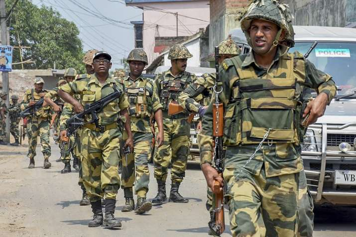 2.7 lakh paramilitary, 20 lakh state police deployed for...- India TV Hindi