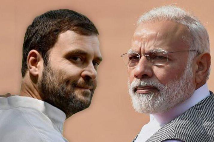 Rahul Gandhi and PM Modi- India TV