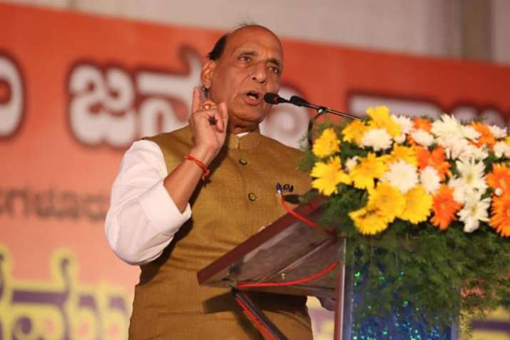 Tried best to reach out to Kashmir, must scrap Article 370 and 35A, says Rajnath Singh | Facebook- India TV Hindi