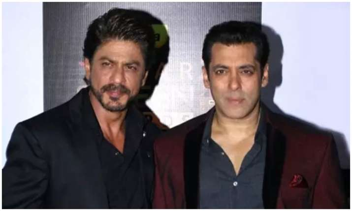 Shah rukh khan and salman khan- India TV