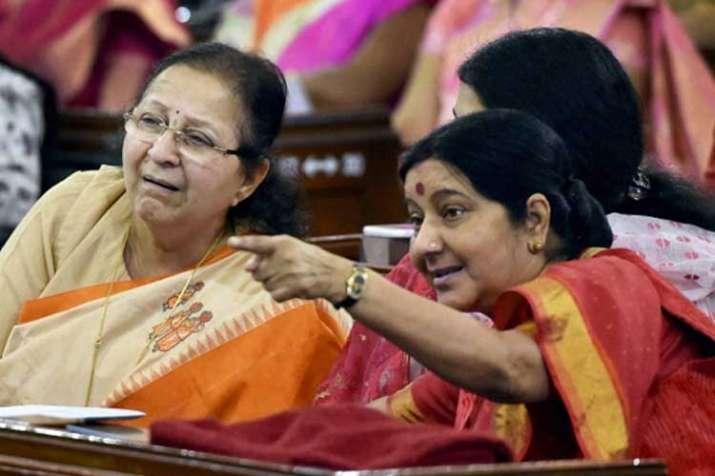 sumitra mahajan and sushma swaraj- India TV