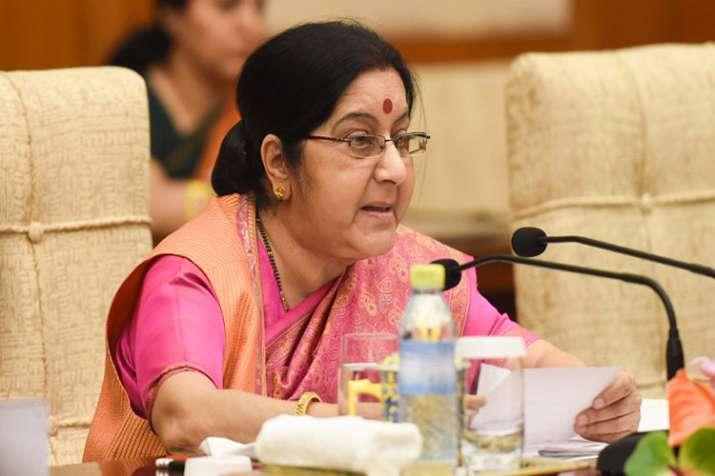 Sushma Swaraj - India TV