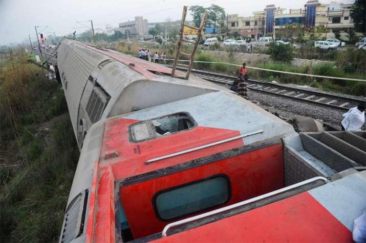 Train Accident- India TV