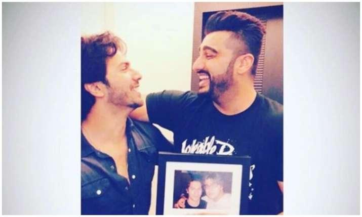 Arjun kapoor shares a post for varun dhawan- India TV Hindi