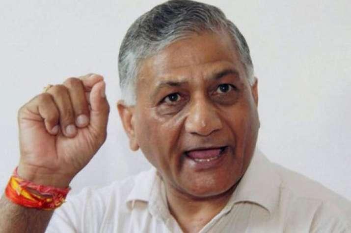 VK Singh denies calling anyone 'traitor' over 'Modi Ki Sena' remark | PTI File- India TV