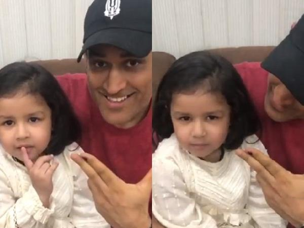 MS Dhoni Daughter Ziva Appeal for vote in lok sabha election- India TV