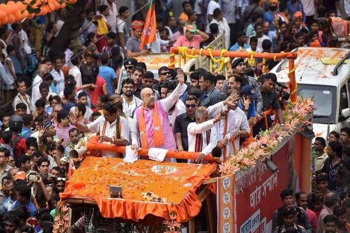 अमित शाह ने कोलकाता...- India TV Hindi
