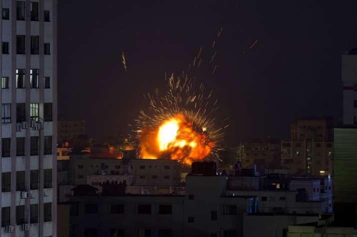 Israel Attacks Gaza- India TV