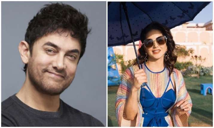 Aamir khan and sunny leone- India TV