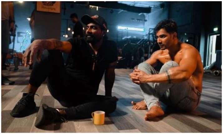 Remo D'souza and varun dhawan- India TV