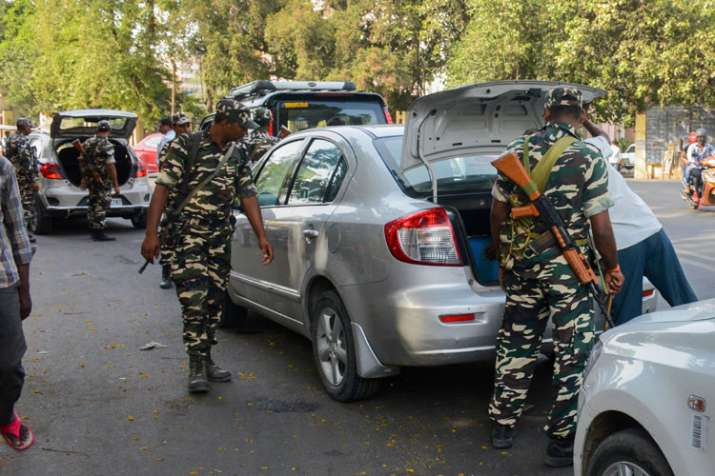 Home Ministry issues alert in fear of heavy violence on poll counting day- India TV