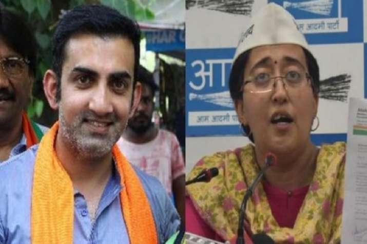 AAP sends notice to BJP and Gautam Gambhir demanding...- India TV