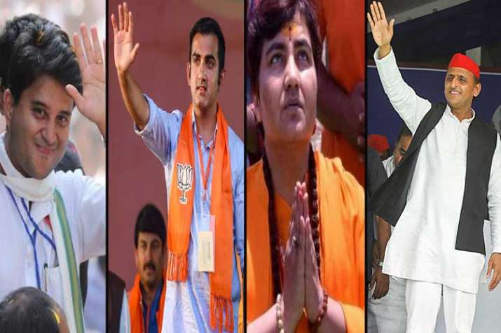 jyotiraditya, scindia gautam gambhir, sadhvi pragya and...- India TV Hindi