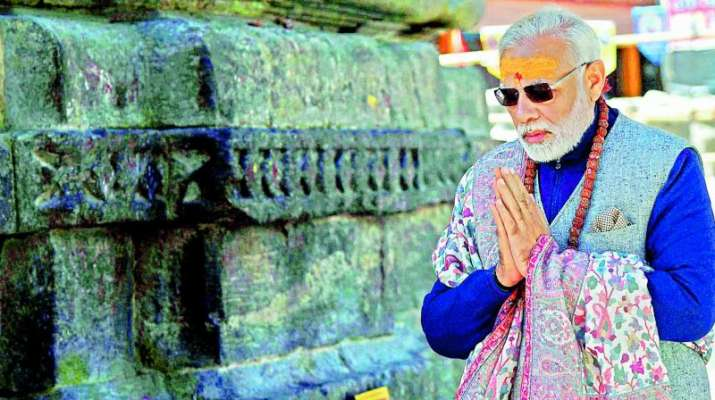 modi in kedarnath- India TV
