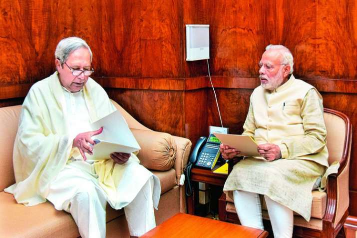 Naveen Patnaik writes to PM Modi thanking the Union Govt for the help rendered to the state during C- India TV Hindi