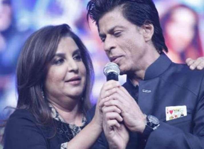 फराह खान-शाहरुख खान- India TV Hindi