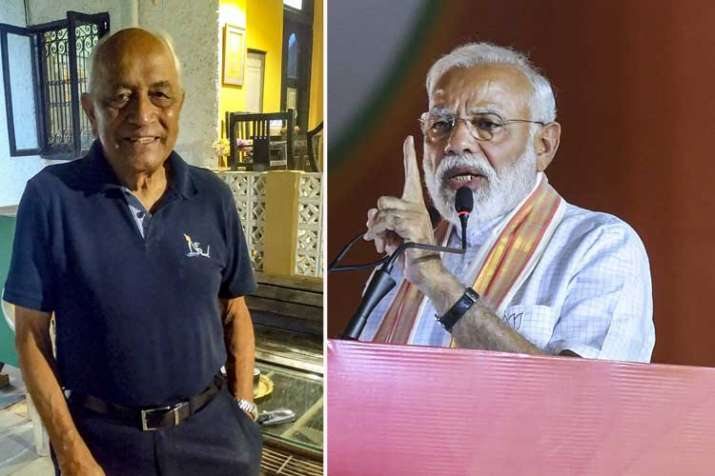 Former Navy chief Admiral (retd) L Ramdas and prime...- India TV