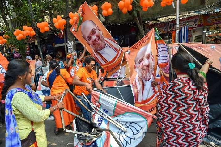 कोलकाता में अमित शाह...- India TV Hindi
