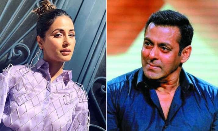 salman Khan's reaction on Hina Khan's Cannes controversy- India TV Hindi
