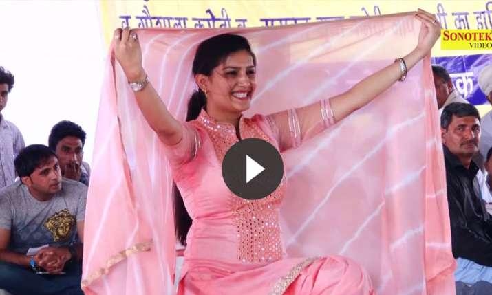 sapna chaudhary- India TV