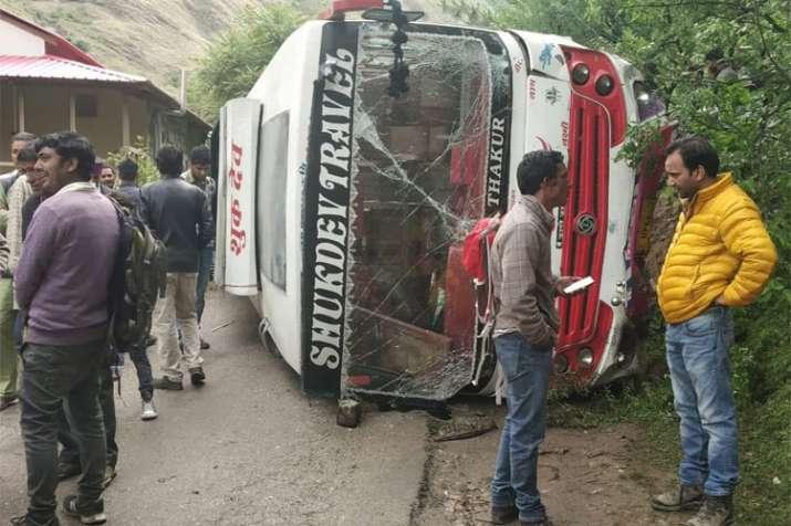 bus accident- India TV