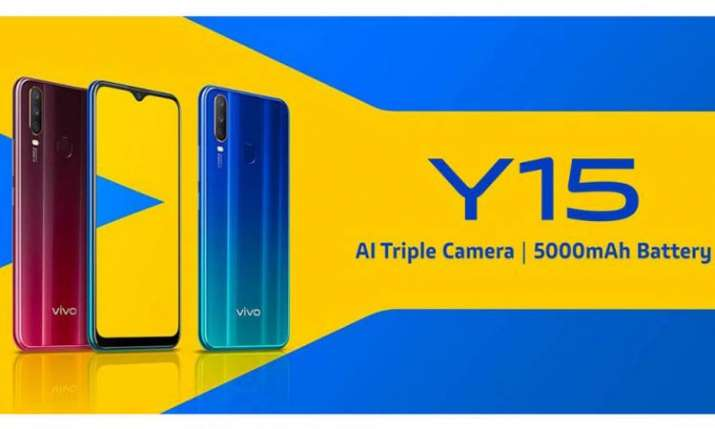 Vivo Y15 smartphone now in India for Rs 13,990- India TV Paisa