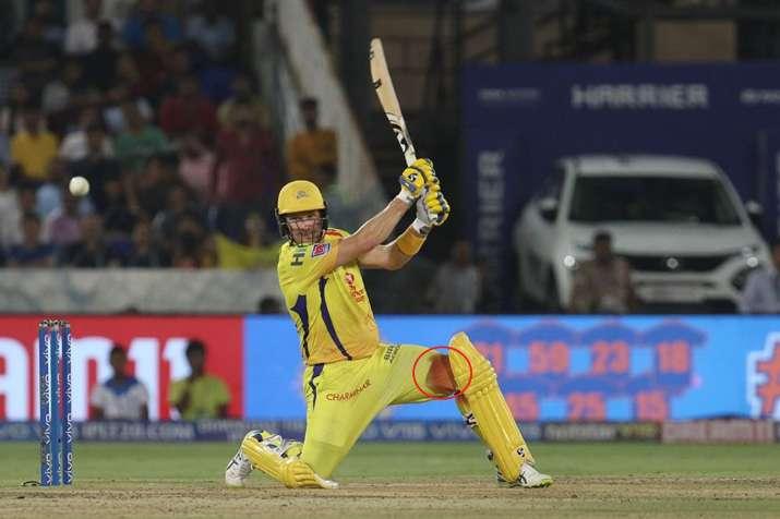 खून से लथपथ घुटने के बावजूद चेन्नई को खिताबी जीत दिलाने में लगे रहे शेन वॉट्सन, अब लगे 6 टांके- India TV Hindi