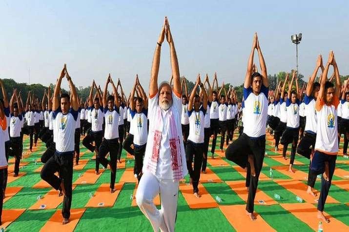 international yoga day 2019- India TV
