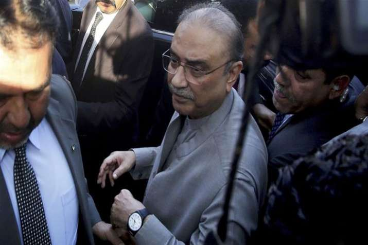 Asif Ali Zardari arrested as IHC rejects bail application- India TV Hindi