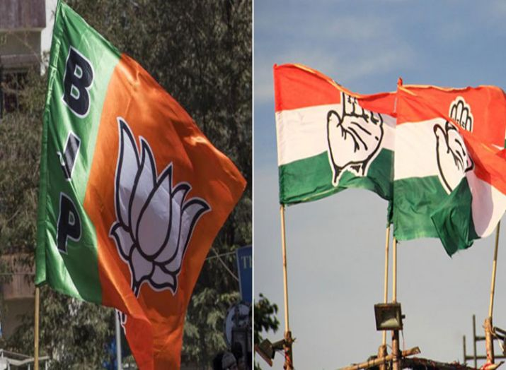 bjp congress- India TV