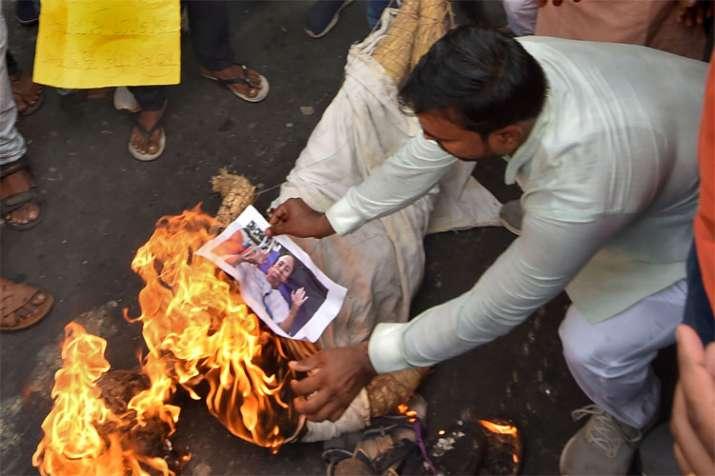 BJP calls for 12-hour bandh in Basirhat of West Bengal   PTI- India TV Hindi