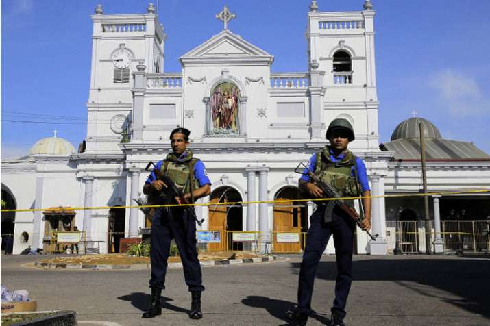 Sri Lanka police bring five Easter bomb suspects back from UAE | AP File- India TV