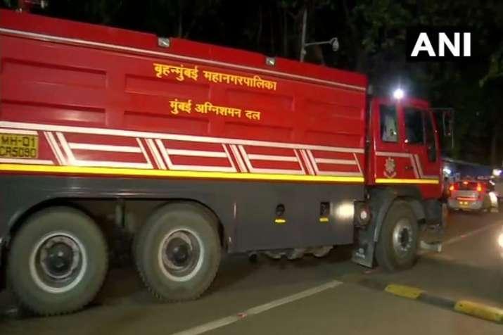 Major fire breaks out at under-construction warship of Indian Navy in Mumbai- India TV Hindi