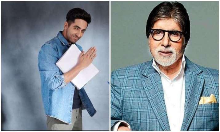Ayushmann Khurana and Amitabh Bachchan- India TV