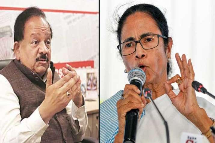 dr harshvardhan and mamata banerjee- India TV Hindi