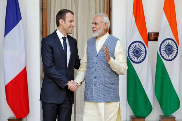Modi has accepted Macrons invite to attend outreach session of G7 Summit: MEA- India TV Hindi