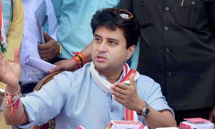 Congress Leaders from western UP clashes with Jyotiraditya Scindia in Delhi- India TV Hindi