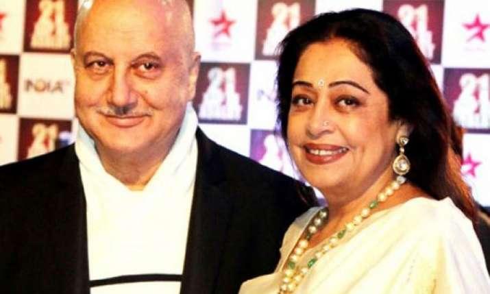 Kirron Kher, Anupam Kher- India TV Hindi