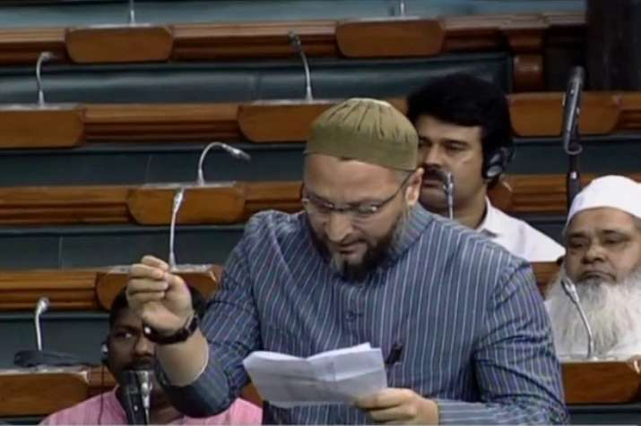 Asaduddin owaisi oppose triple talaq bill- India TV Hindi