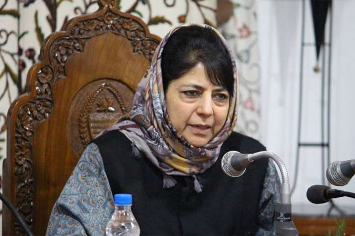 Centre trying to inflict emotional partition of Jammu and Kashmir, says Mehbooba Mufti | PTI File- India TV