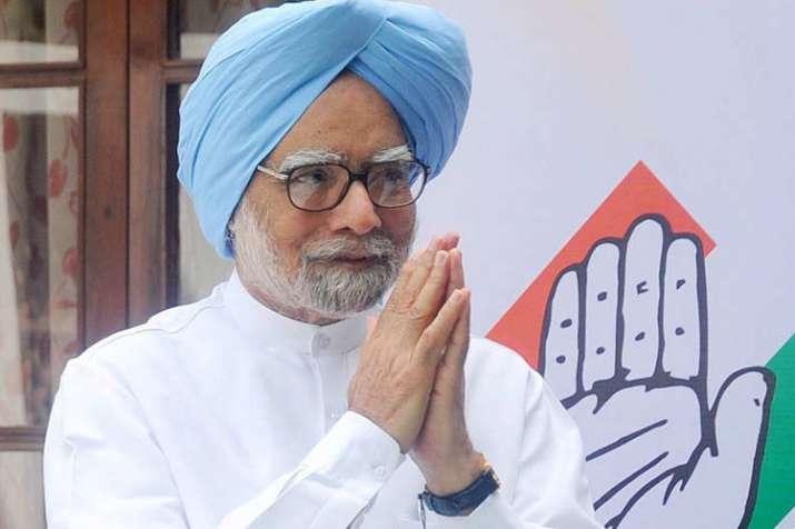 नीति आयोग की बैठक से पहले कांग्रेस शासित राज्यों के मुख्यमंत्रियों ने किया मनमोहन सिंह से मुलाकत- India TV Hindi