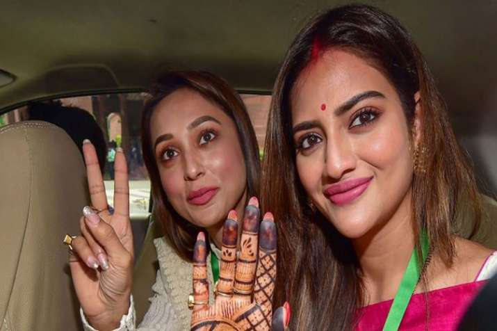Nusrat Jahan says no one should comment on my dress,...- India TV