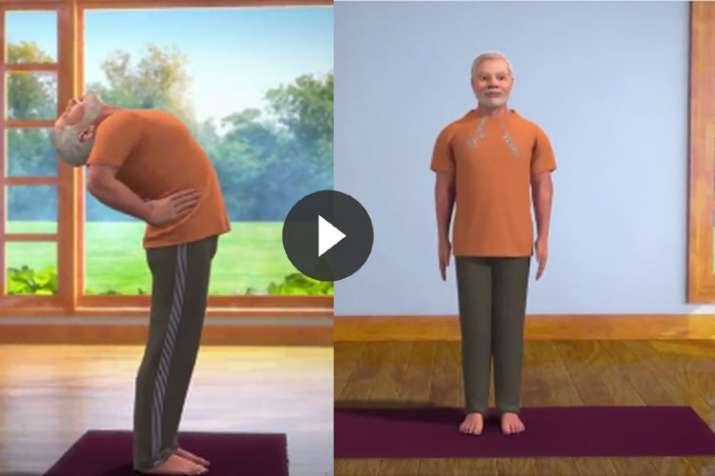 ardha chakrasana- India TV